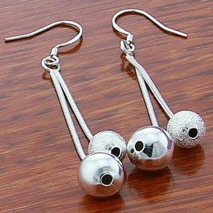 925 Sterling Silver Drop Dangle Earrings